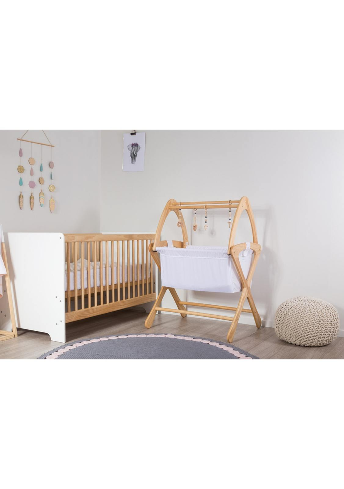 Cariboo: Contemporary Cot - Natural image