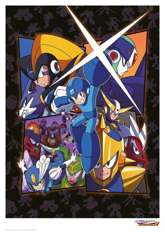 Mega Man: Premium Art Print - Legacy (Limited Edition)