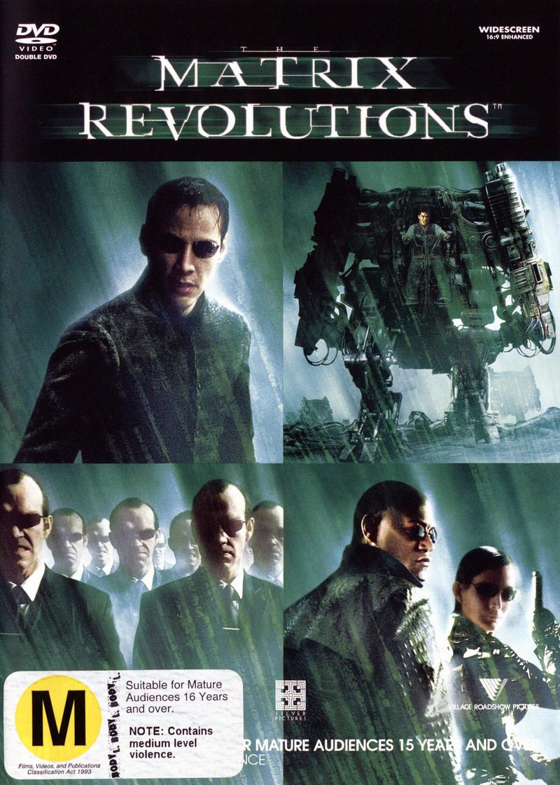 The Matrix - Revolutions on DVD image