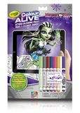 Crayola: Colour Alive - Monster High