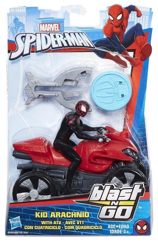 Marvel: Blast N' Go Racer - Kid Arachnid