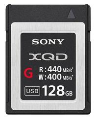 128GB Sony QDG128 G Series XQD Card