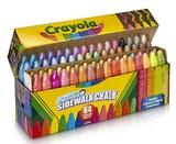 Crayola: Sidewalk Chalk Collection (64-Pack)
