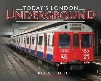 Today's London Underground by Reiss O'neill