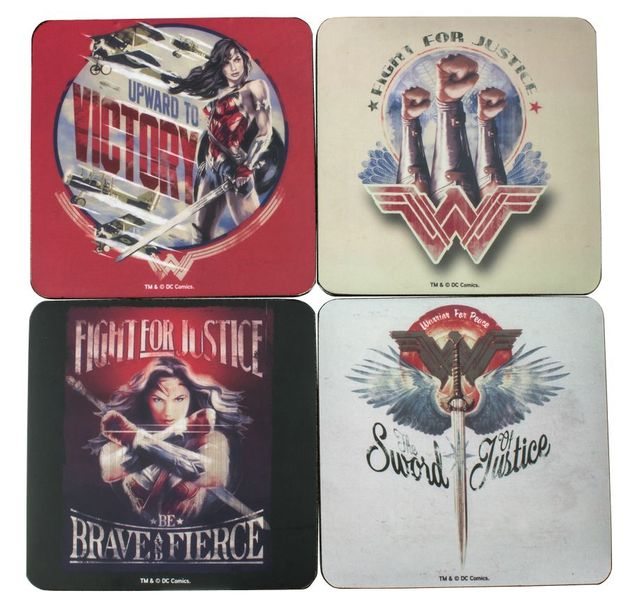 Wonder Woman Coaster Set