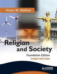 Religion and Society by Victor W. Watton