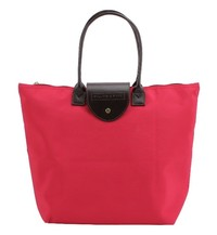 Willow & Rose Foldaway Shopping Tote (Berry)