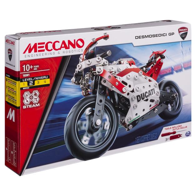 Meccano: Ducati Desmosedici GP Motorcycle
