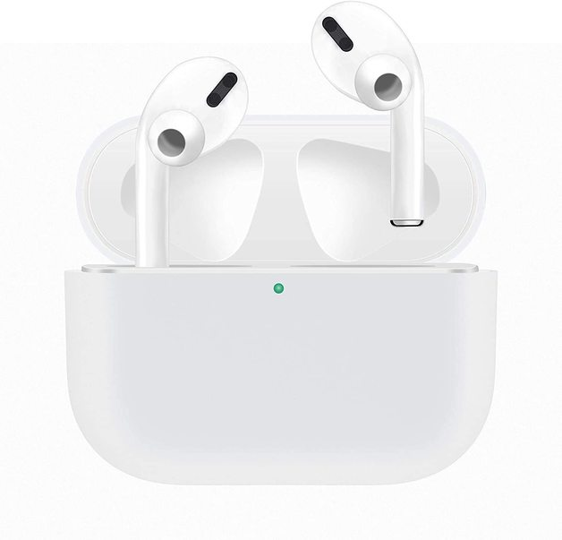 Airpods Pro Silicone Slim Light Protective Cover - White