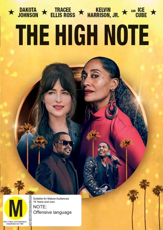 The High Note on DVD