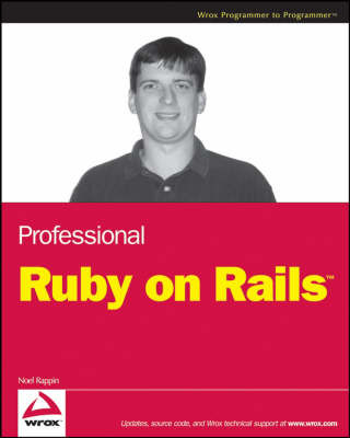 Professional Ruby on Rails by Noel Rappin image