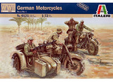 Italeri German Motorcycles (WWII) 1:72 Model Kit