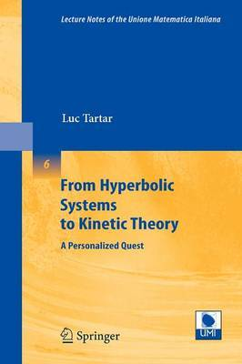From Hyperbolic Systems to Kinetic Theory by Luc Tartar image