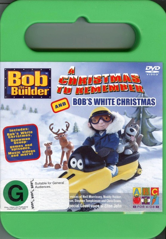 Bob The Builder - A Christmas To Remember And Bob's White Christmas on DVD