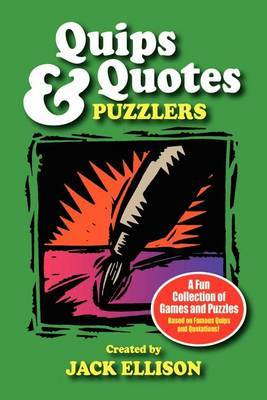 Quips & Quotes Puzzlers by Jack Ellison image