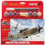 Airfix: 1:72 Boulton Paul Defiant Mk.I - Starter Model Kit