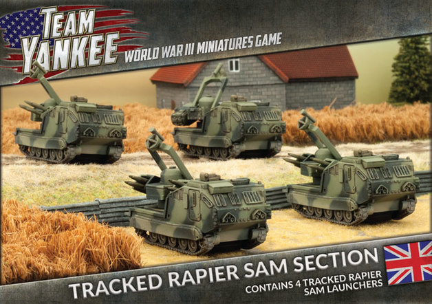 Flames of War: Team Yankee - Tracked Rapier SAM Section