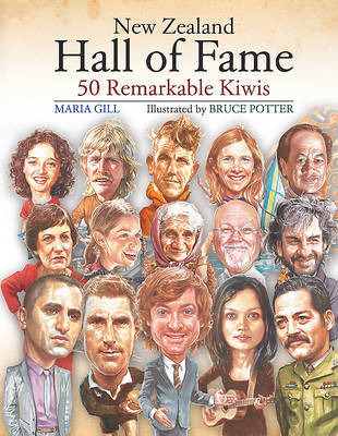 New Zealand Hall of Fame by Maria Gill