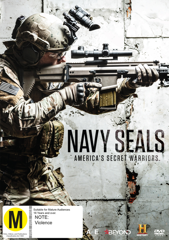 Navy SEALs: America's Secret Warriors on DVD