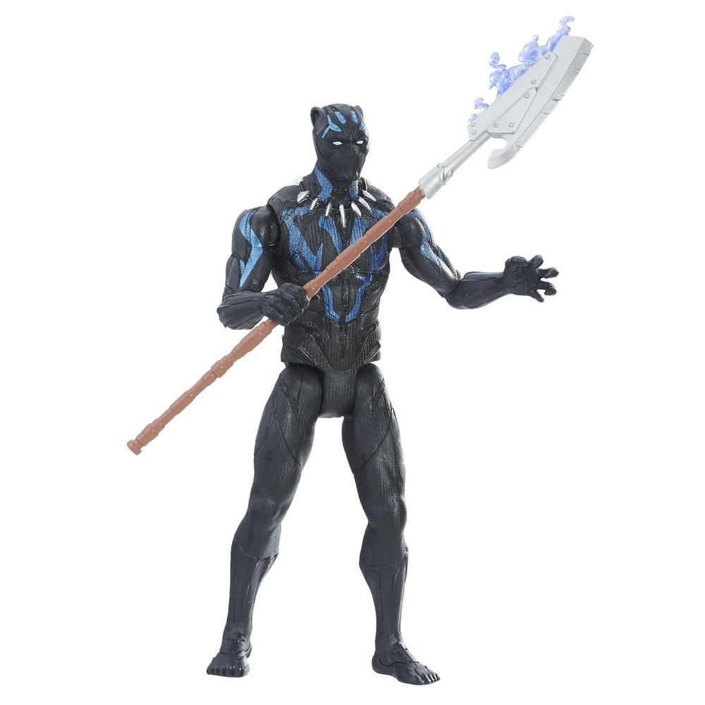 Marvel's Black Panther: Vibranium Black Panther - Action Figure image