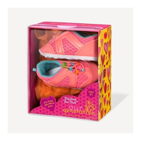 Our Generation: Doll Shoes - Dashing For Style image