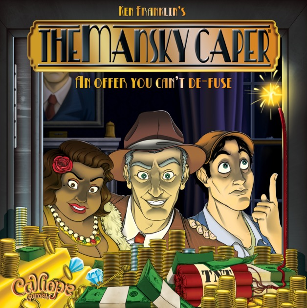 The Mansky Caper - Board Game