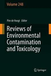 Reviews of Environmental Contamination and Toxicology Volume 248
