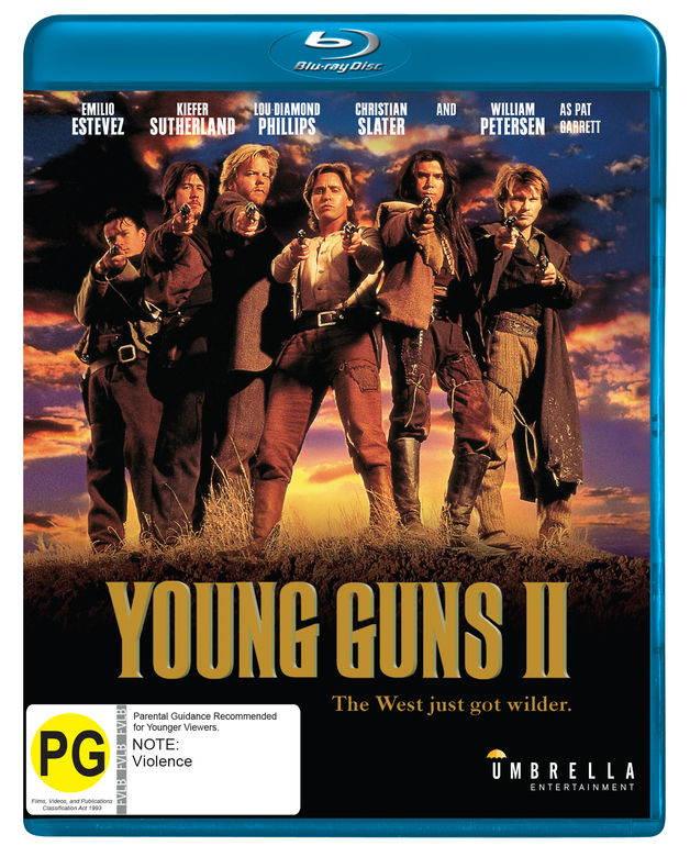 Young Guns II (Bluray) on Blu-ray