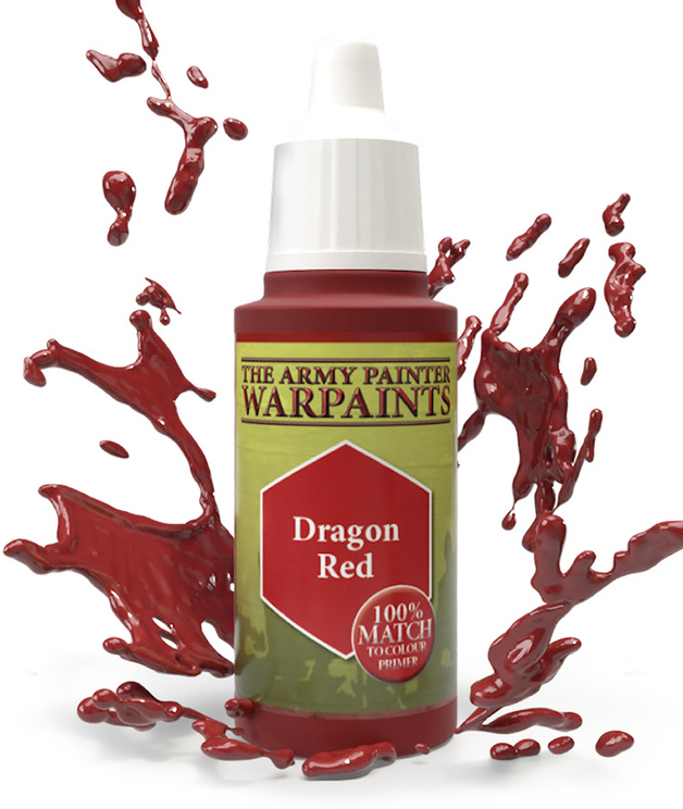 Army Painter: Warpaints - Dragon Red