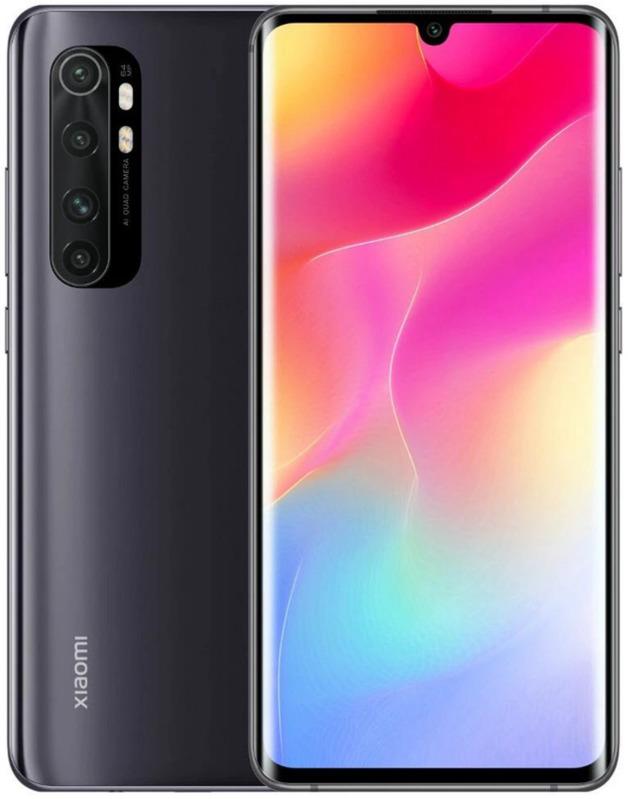 Xiaomi: Note 10 Lite (128GB/6GB RAM) - Midnight Black