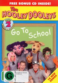 Hooley Dooleys, The - How 2 Go To School (DVD And CD) on DVD image