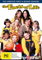 The Facts Of Life - Complete Seasons 1 And 2 (4 Disc Set) on DVD