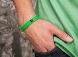Minecraft Creeper Rubber Bracelet - large