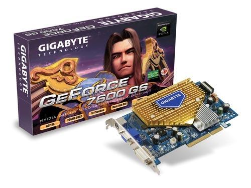 GIGABYTE GeForce 7600GS 256MB GDDR2 Graphics Card