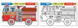 Melissa & Doug: Fire Engine Colour-a-Mat