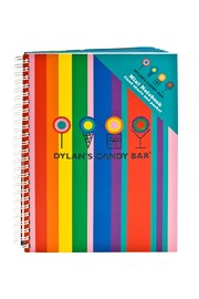 Dylan's Candy Bar Stripes Notebook