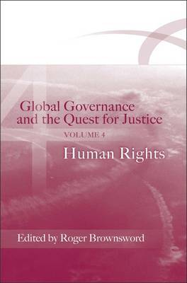 Global Governance and the Quest for Justice: v. 4 image