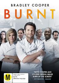 Burnt on DVD