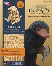 IncrediBuilds: Fantastic Beasts and Where to Find Them: Niffler Deluxe Book and Model Set by Ramin Zahed
