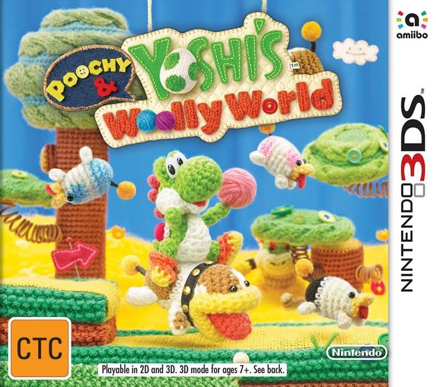 Poochy & Yoshi's Woolly World Bundle for Nintendo 3DS