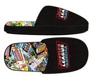 Justice League: Comic Sublimated - Slide Slippers (S)
