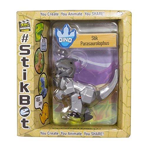 Stikbot: Dino Single - Parasaurolophus (Silver)