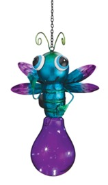 Regal Art & Gift: Solar Firefly Lantern - Purple