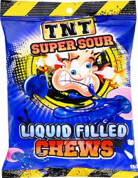 TNT Liquid Filled Sour Chew (150g) image