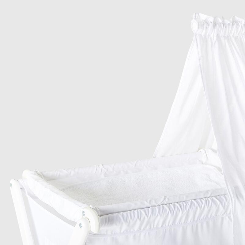 Cariboo Classic Bassinet - White image