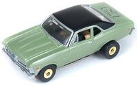 Auto World ThunderJets Ultra-G R9 '70 Chevy Nova Slot Car - Green