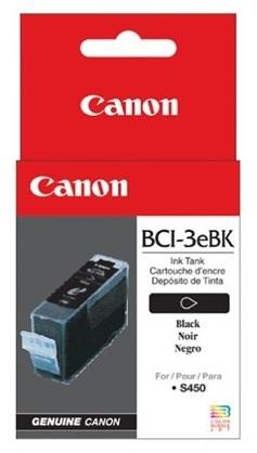 Canon Ink Cartridge - BCI3EBK (Black) image