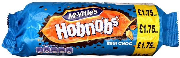 McVities Hobnob's - Milk Chocolate (266g)
