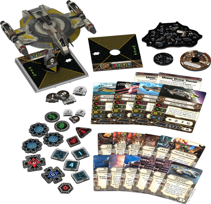 Star Wars X-Wing Shadow Caster Expansion Pack image