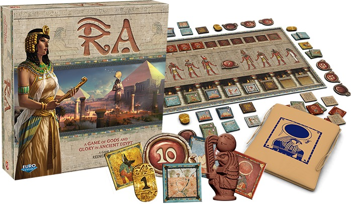 Ra Game Board